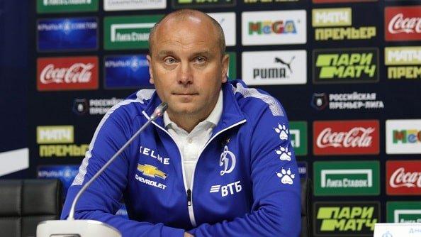 «Динамо» объявило об отставке Хохлова