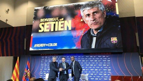 Сетьен официально стал главным тренером «Барселоны»