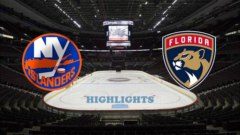 Нью-Йорк Айлендерс - Флорида Пантерз обзор 01.08.2020 НХЛ