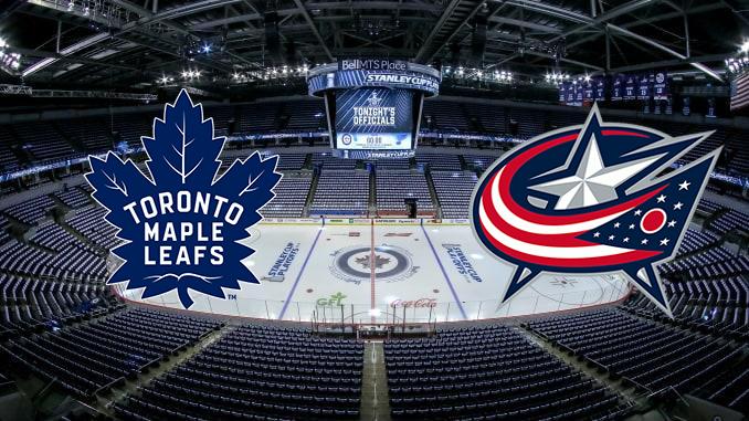 Торонто Мэйпл Лифс - Коламбус Блю Джекетс НХЛ 10.08.2020