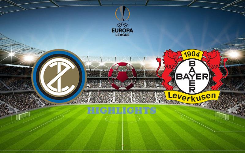 Интер - Байер обзор 10.08.2020 Лига Европы