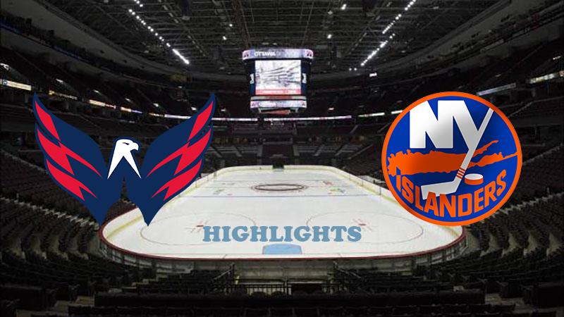 Вашингтон Кэпиталз - Нью-Йорк Айлендерс обзор 12.08.2020 НХЛ
