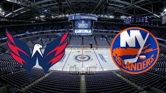 Вашингтон Кэпиталз - Нью-Йорк Айлендерс НХЛ 12.08.2020