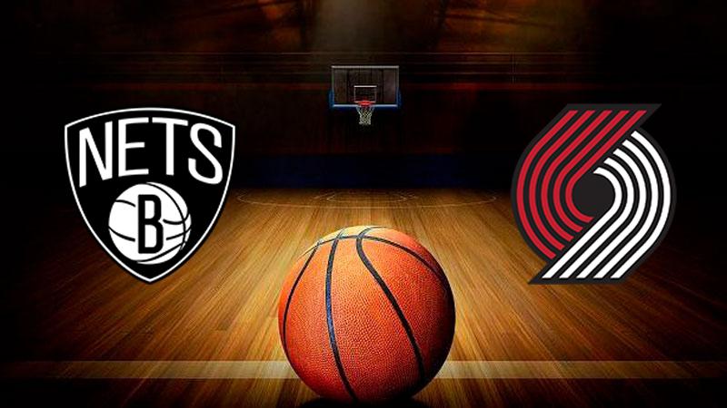 Бруклин Нетс - Портленд Трэйл Блэйзерс обзор 14.08.2020 НБА
