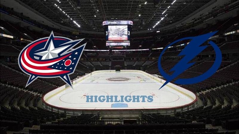 Коламбус Блю Джекетс - Тампа-Бэй Лайтнинг обзор 13.08.2020 НХЛ