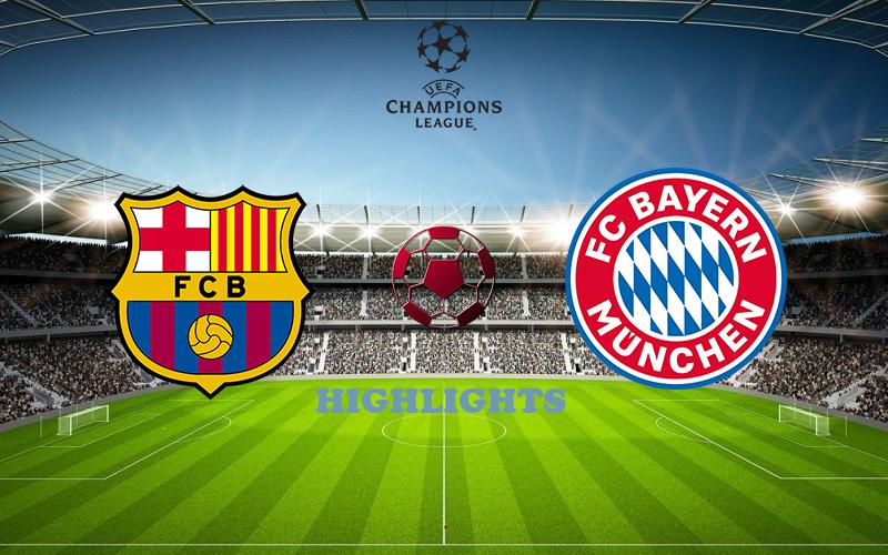 Барселона - Бавария обзор 14.08.2020 Лига Чемпионов
