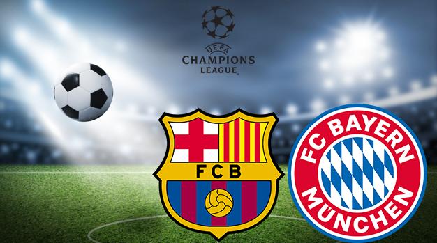 Барселона - Бавария Лига Чемпионов 14.08.2020