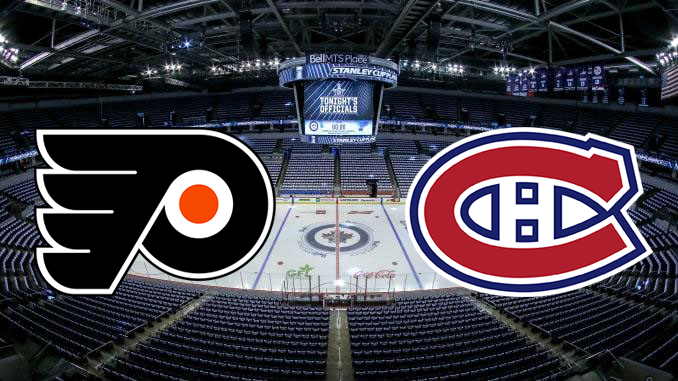 Филадельфия Флайерз - Монреаль Канадиенс НХЛ 14.08.2020