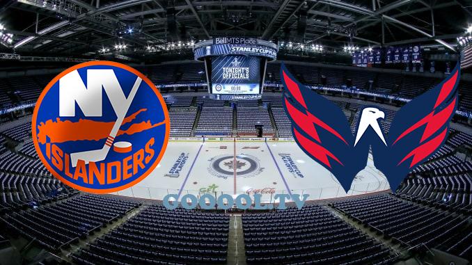 Нью-Йорк Айлендерс - Вашингтон Кэпиталз НХЛ 19.08.2020