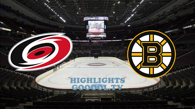 Бостон Брюинз - Каролина Харрикейнз обзор 19.08.2020 НХЛ