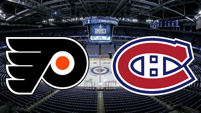 Филадельфия Флайерз - Монреаль Канадиес НХЛ 20.08.2020