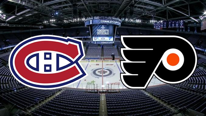 Монреаль Канадиенс - Филадельфия Флайерз НХЛ 22.08.2020