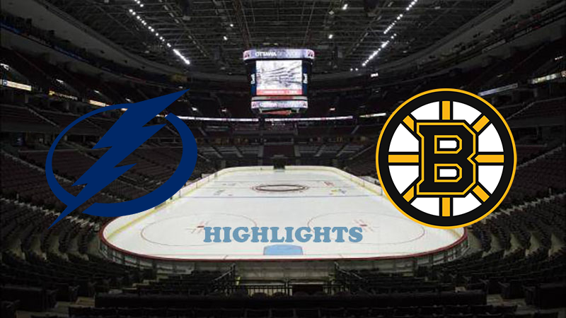 Тампа-Бэй Лайтнинг - Бостон Брюинз обзор 24.08.2020 НХЛ