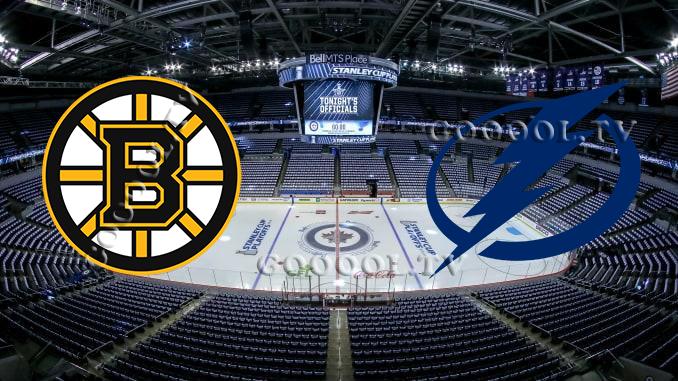 Бостон Брюинз - Тампа-Бэй Лайтнинг НХЛ 27.08.2020