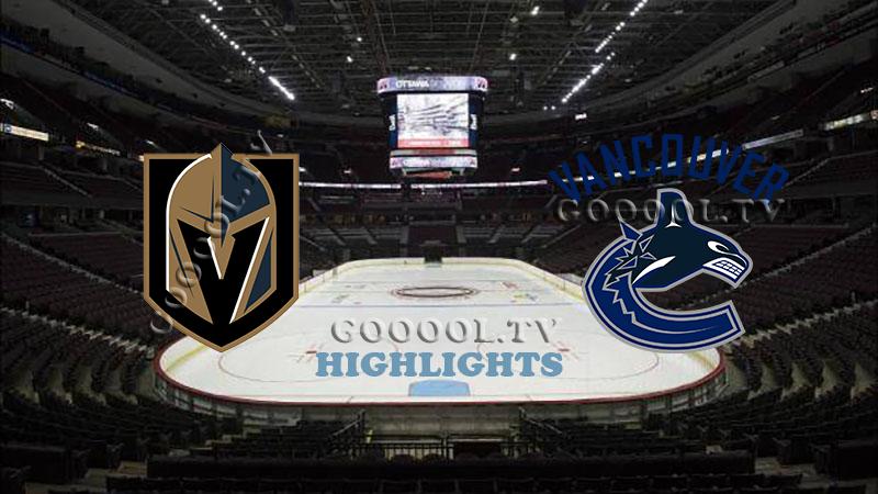 Ванкувер Кэнакс - Вегас Голден Найтс обзор 04.09.2020 НХЛ