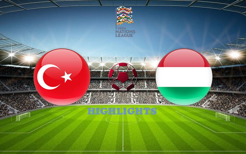 Турция - Венгрия обзор 03.09.2020 Лига наций УЕФА