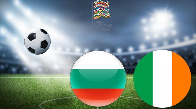 Болгария - Ирландия Лига наций УЕФА 03.09.2020