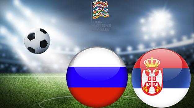 Россия - Сербия Лига наций УЕФА 03.09.2020