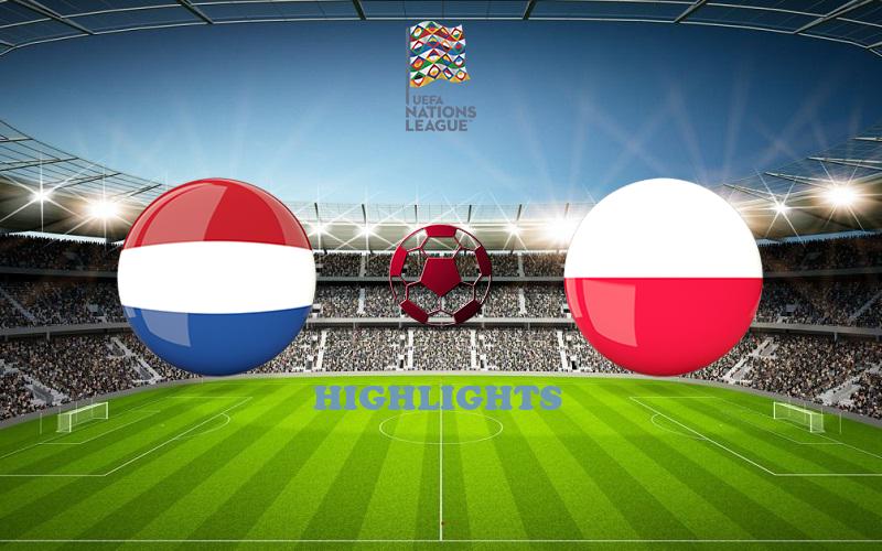 Нидерланды - Польша обзор 04.09.2020 Лига наций УЕФА