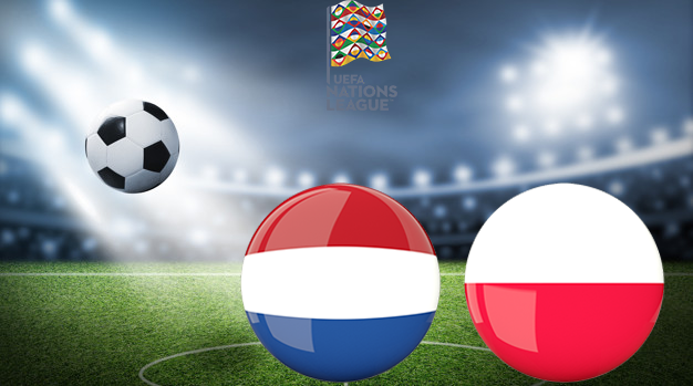 Нидерланды - Польша Лига наций УЕФА 04.09.2020