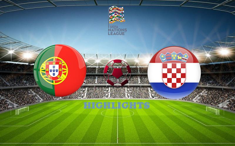 Португалия - Хорватия обзор 05.09.2020 Лига наций УЕФА