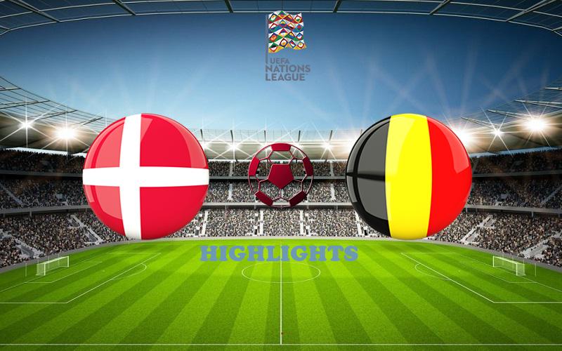 Дания - Бельгия обзор 05.09.2020 Лига наций УЕФА