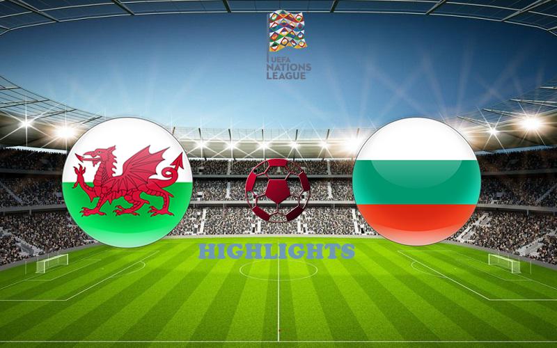 Уэльс - Болгария обзор 06.09.2020 Лига наций УЕФА
