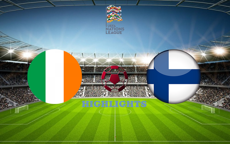 Ирландия - Финляндия обзор 06.09.2020 Лига наций УЕФА