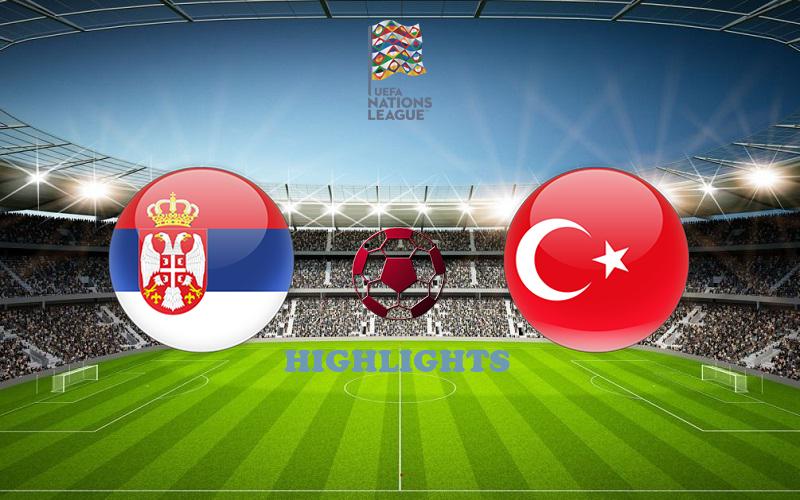 Сербия - Турция обзор 06.09.2020 Лига наций УЕФА