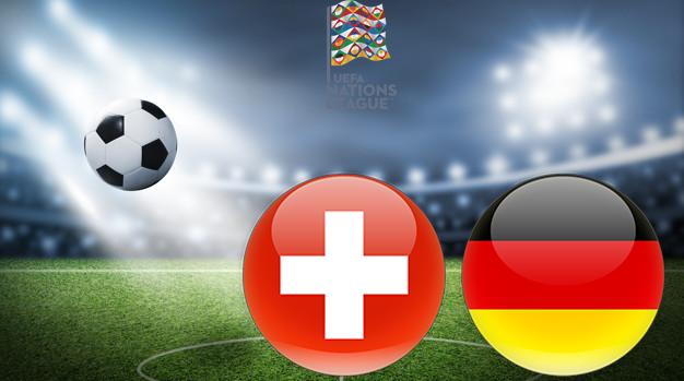 Швейцария - Германия Лига наций УЕФА 06.09.2020