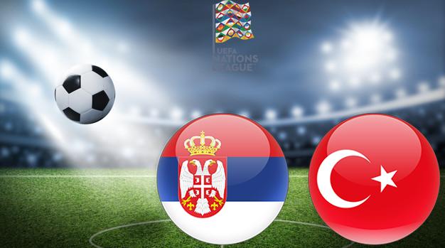 Сербия - Турция Лига наций УЕФА 06.09.2020