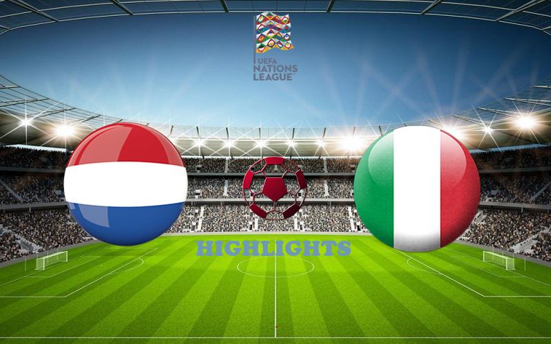 Нидерланды - Италия обзор 07.09.2020 Лига наций УЕФА