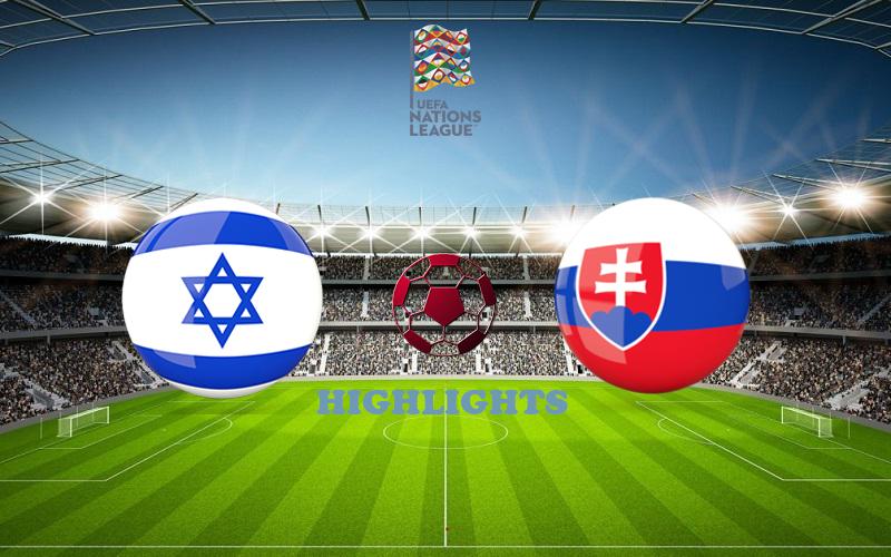 Израиль - Словакия обзор 07.09.2020 Лига наций УЕФА