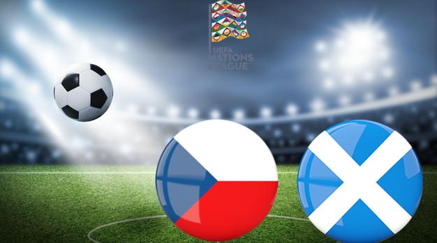 Чехия - Шотландия Лига наций УЕФА 07.09.2020