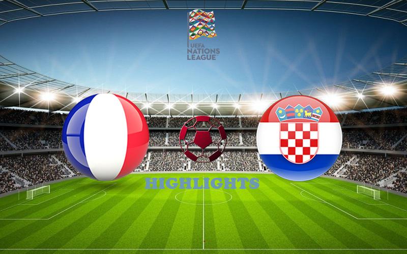 Франция - Хорватия обзор 08.09.2020 Лига наций УЕФА