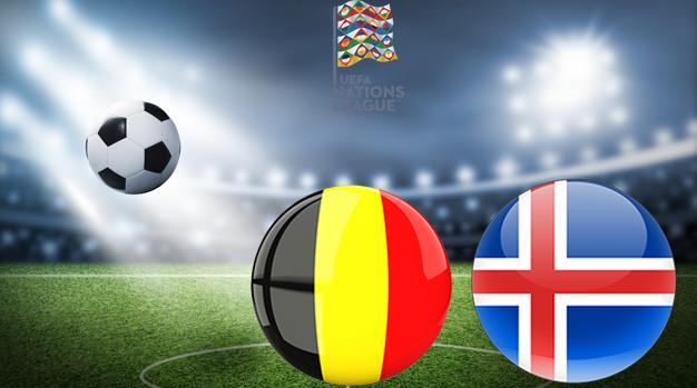 Бельгия - Исландия Лига наций УЕФА 08.09.2020