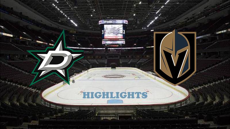 Даллас Старз - Вегас Голден Найтс обзор 13.09.2020 НХЛ