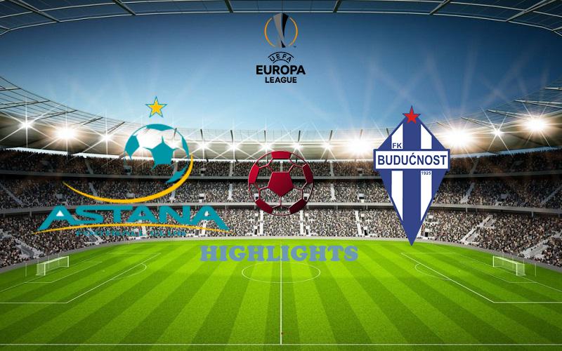 Астана - Будучность обзор 17.09.2020 Лига Европы