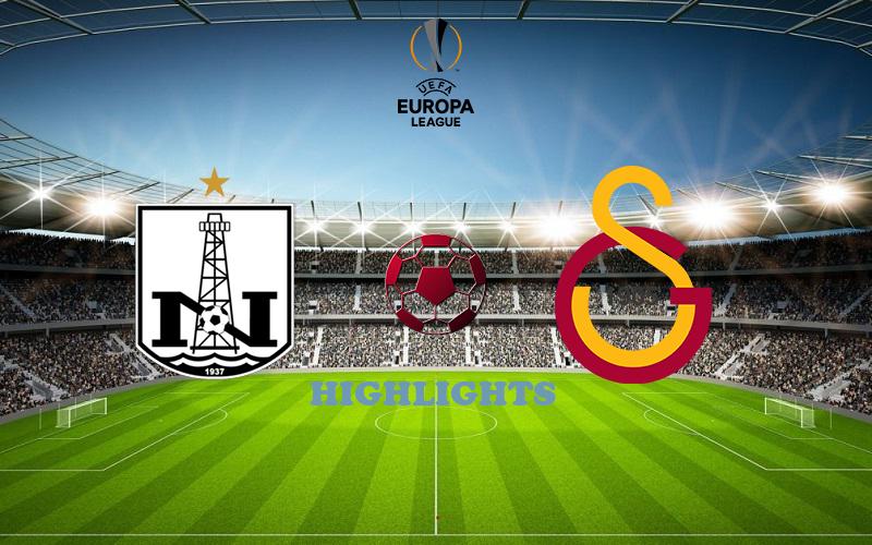 Нефтчи - Галатасарай обзор 17.09.2020 Лига Европы