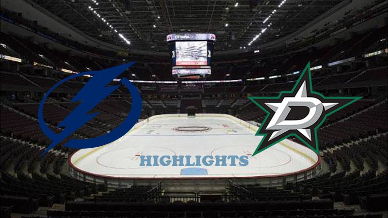Тампа-Бэй Лайтнинг - Даллас Стар обзор 21.09.2020 НХЛ