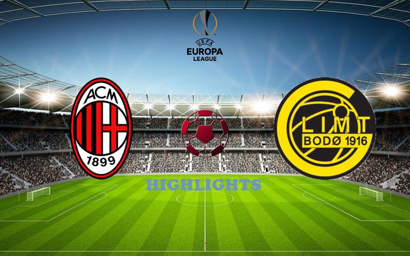 Милан - Глимт обзор 24.09.2020 Лига Европы