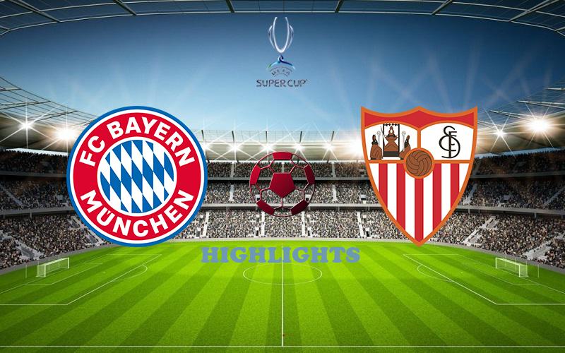 Бавария - Севилья обзор 24.09.2020 Суперкубок УЕФА