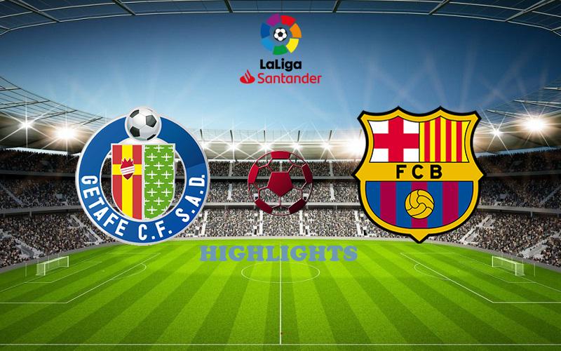 Хетафе - Барселона обзор 17.10.2020 Ла Лига