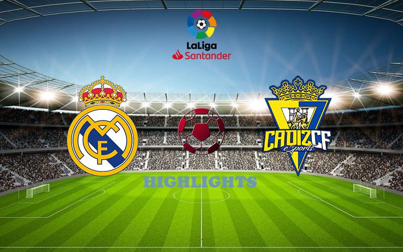 Реал Мадрид - Кадис обзор 17.10.2020 Ла Лига