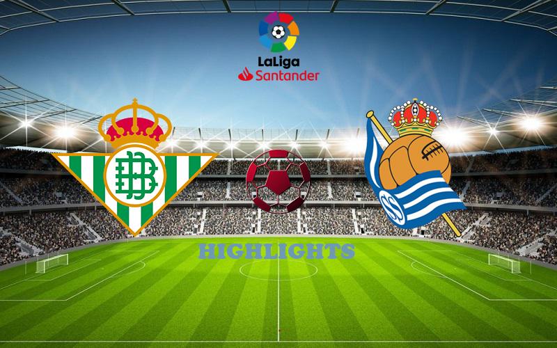 Бетис - Реал Сосьедад обзор 18.10.2020 Ла Лига