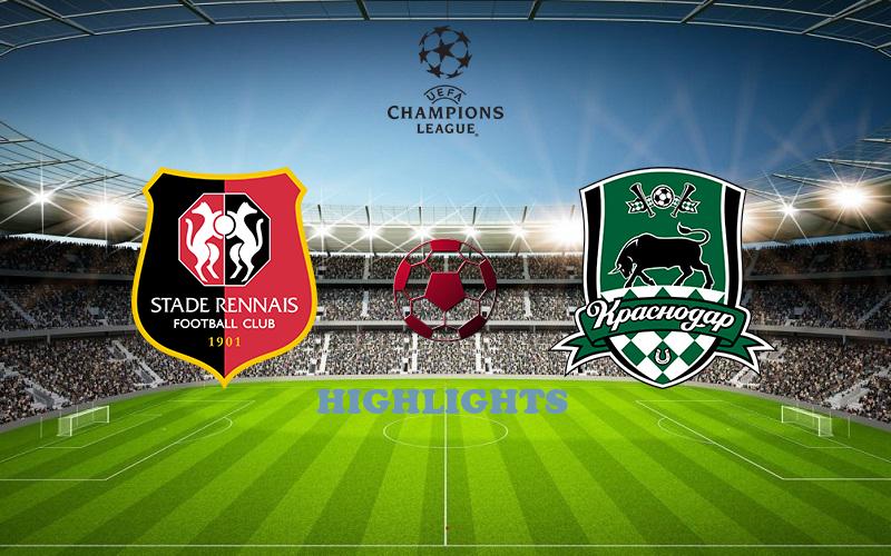 Ренн - Краснодар обзор 20.10.2020 Лига Чемпионов