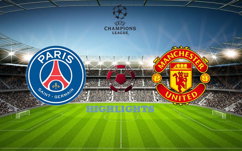ПСЖ - Манчестер Юнайтед обзор 20.10.2020 Лига Чемпионов