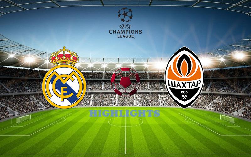 Реал Мадрид - Шахтер обзор 21.10.2020 Лига Чемпионов