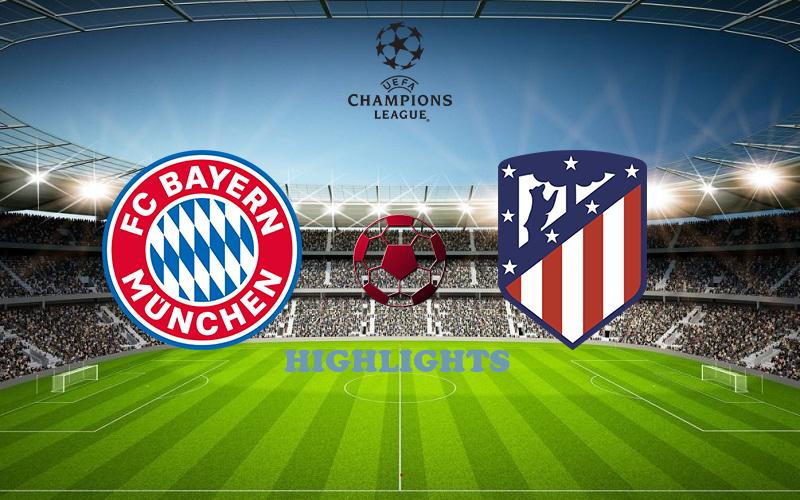 Бавария - Атлетико обзор 21.10.2020 Лига Чемпионов