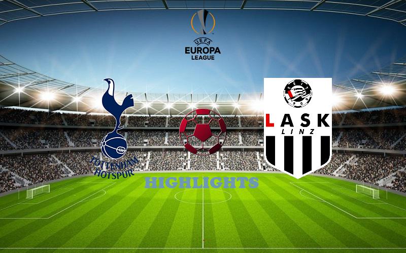 Тоттенхэм - ЛАСК обзор 22.10.2020 Лига Европы